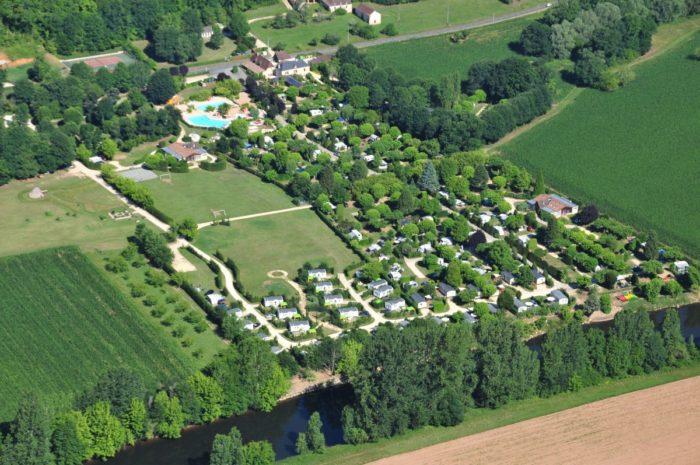 Camping Le Paradis - Vue aérienne 2012