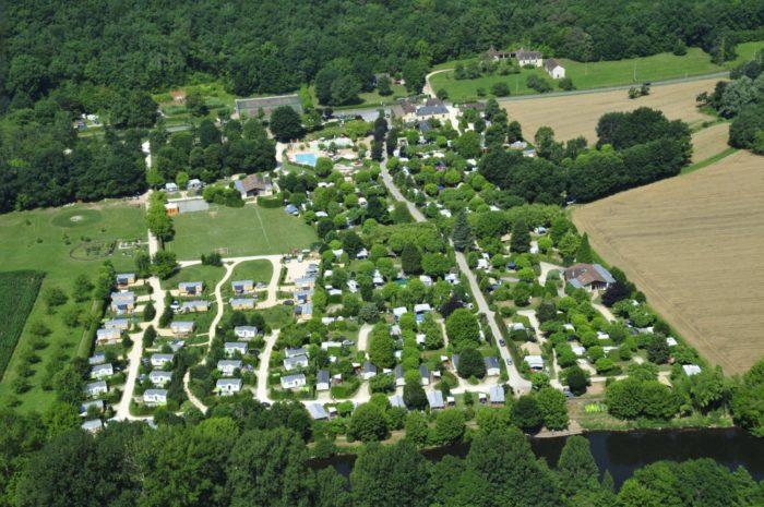 Camping Le Paradis - Vue aérienne 2013