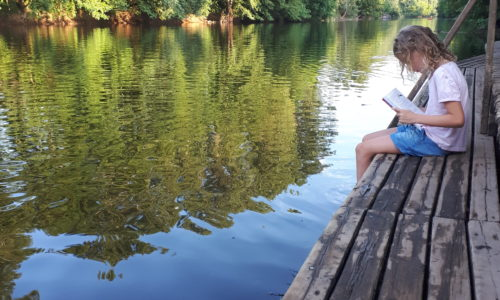 Camping Le Paradis - Bord de rivière - Ponton